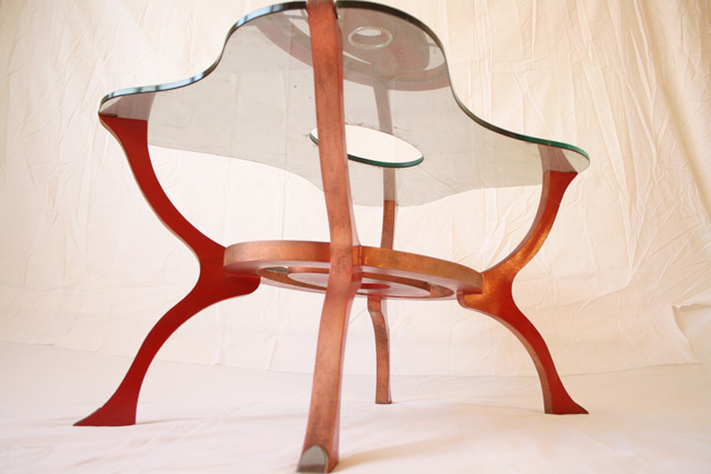 Original Glass-Top Coffee Table