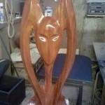 E1 Works Wooden Sculpture 2012